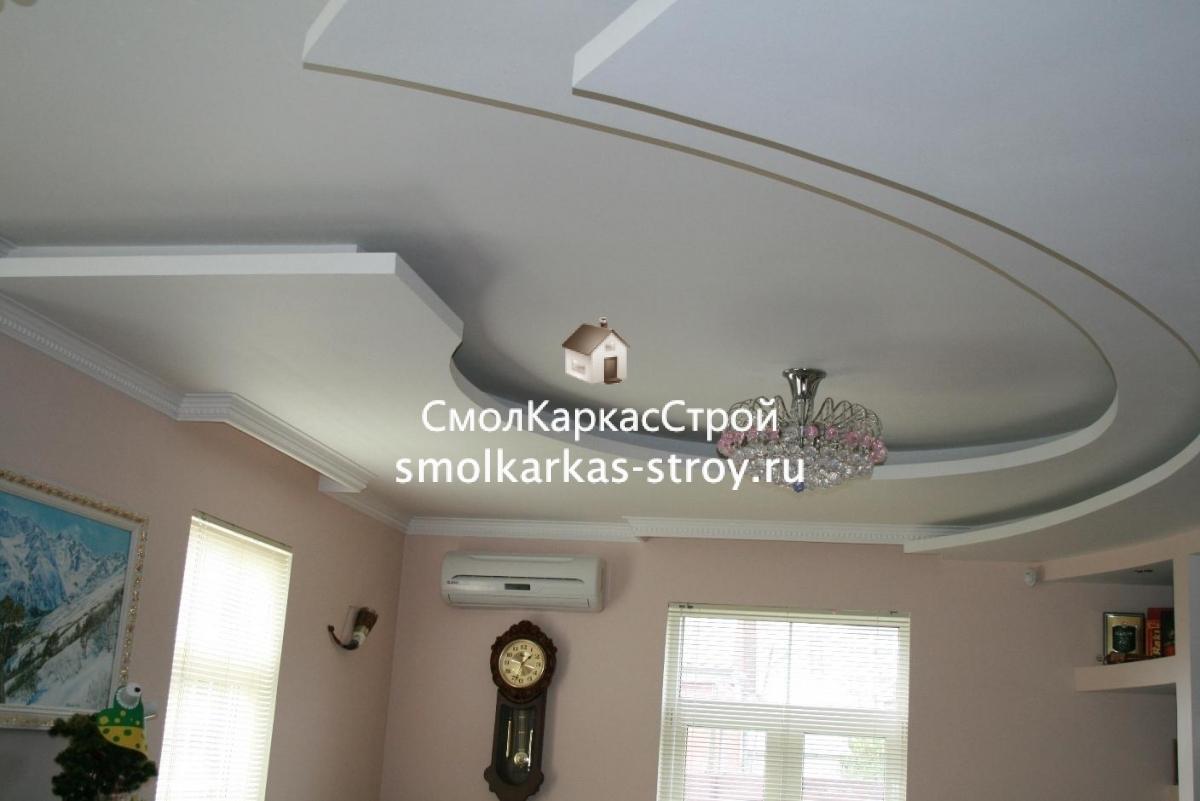 Потолок и детскую своими руками фото