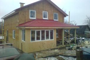 Строительство каркасного дома, ул. Лавочкина