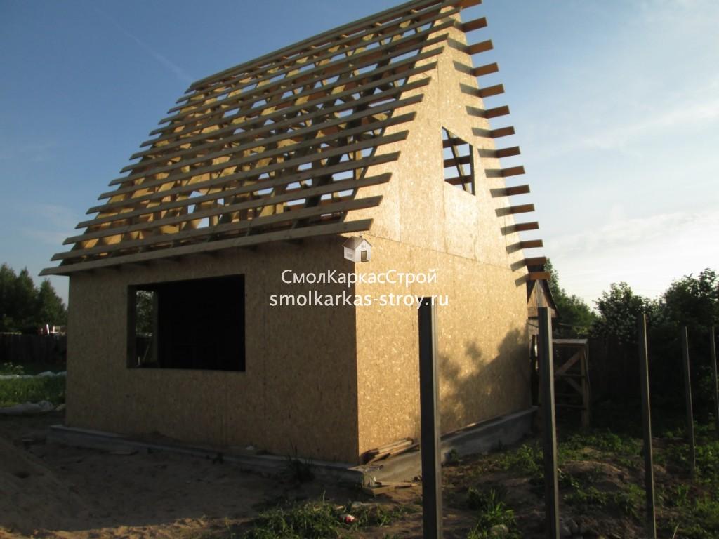 Строительство дома г. Печерск