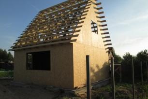 Строительство каркасного дома, п. Печерск