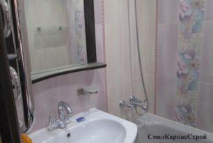 Ремонт ванной и туалета «под ключ», ул. Попова