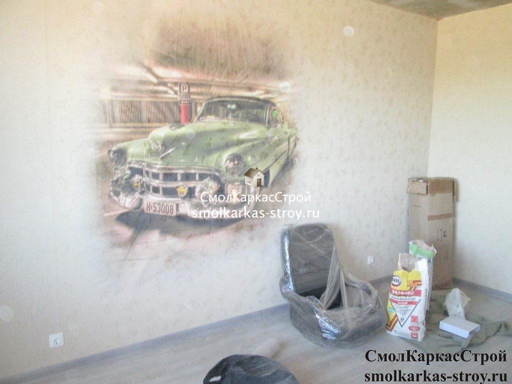 Ремонт двухкомнатной квартиры, д. Киселёвка