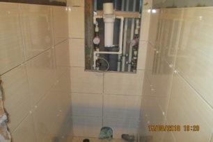 Отделка ванны и туалета под ключ, ул. Памфилова