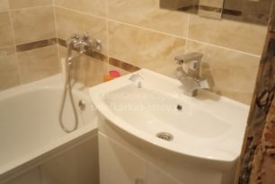 Ремонт ванны и туалета, д. Киселевка